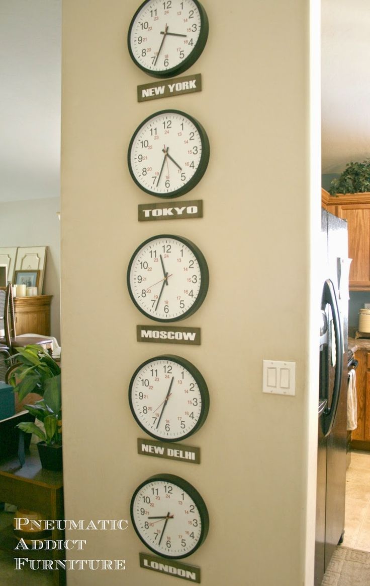 Best 25 time zone clocks ideas on pinterest time zones for Home decor zone