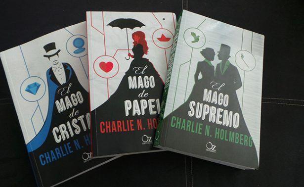 LÁPIZ ANDANTE:: CHARLIE N. HOLMBERG: Una trilogía fantástica