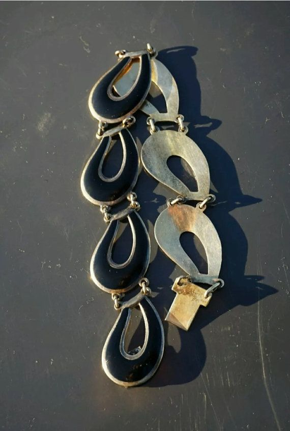 John Baalerud Vintage Sterling Silver and Enamel by NordicPassion