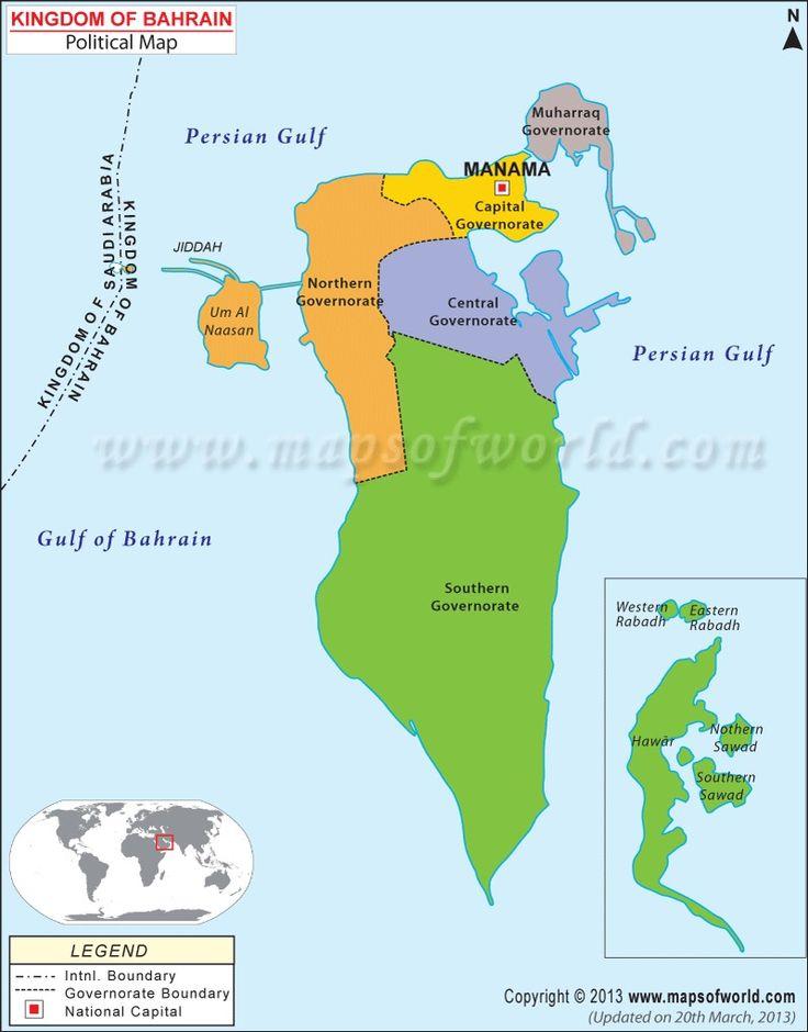 Best Bahrain Map Ideas On Pinterest Turkey Country Map Map - Bahrain map