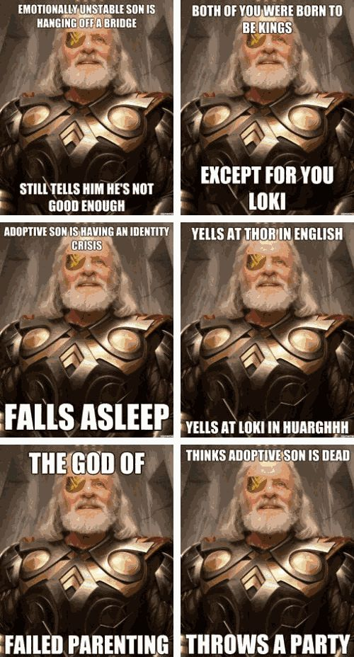 So true. Stupid Odin