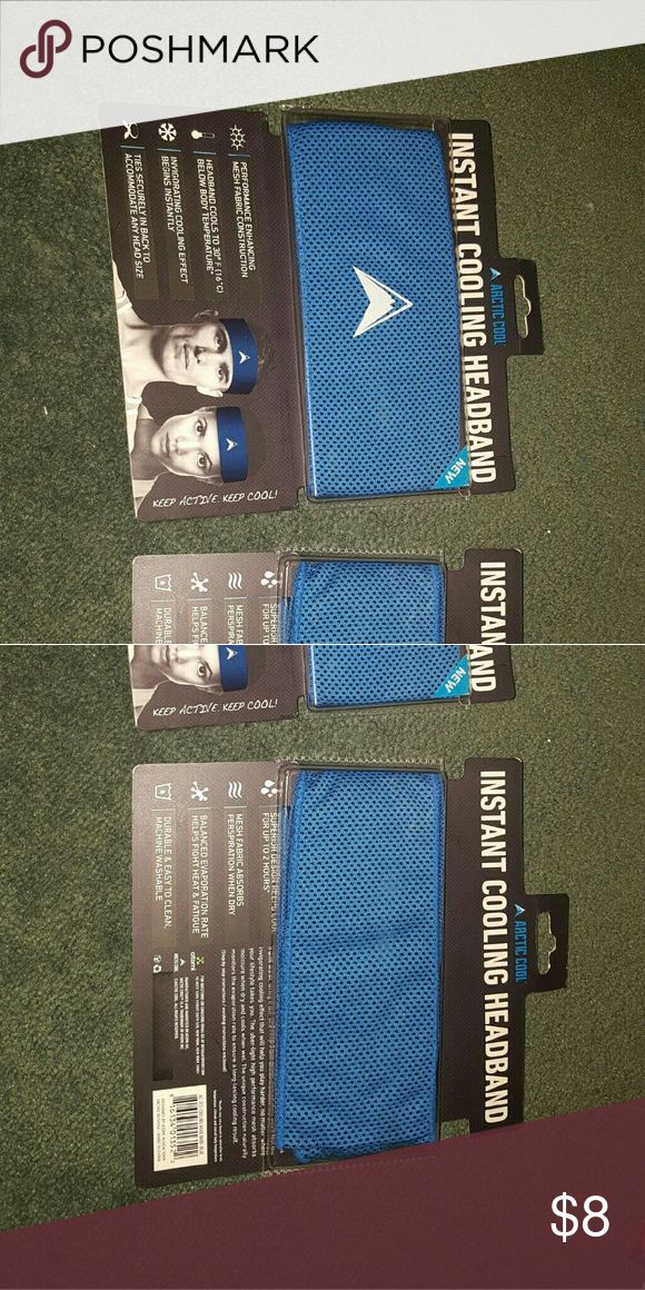 2 Instant cooling headband Brand new cooling headbands Accessories