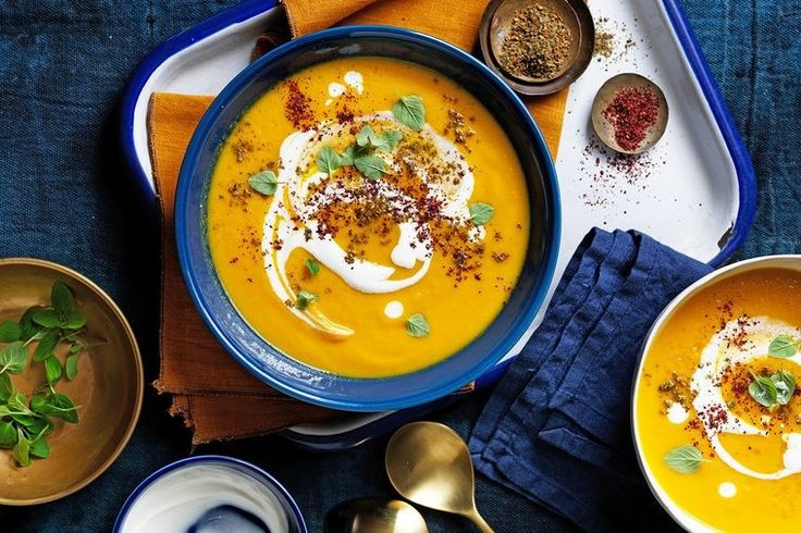 Carrots and cauliflower get a Middle Eastern spice twist to really warm you up during the colder months.