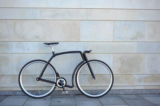 Viks steel urban bike