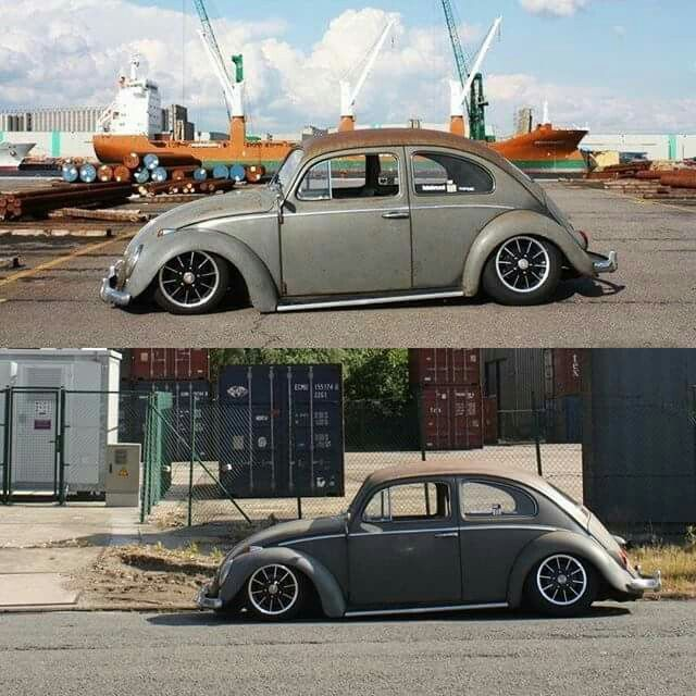 Vw Bug Air Cooled Wheels: 17 Best Images About Stanced BUGs On Pinterest
