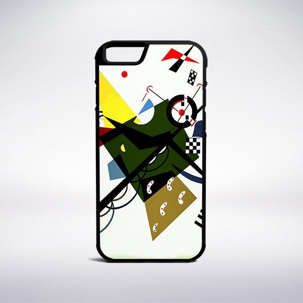 Wassily Kandinsky - On White II Phone Case – Muse Phone Cases
