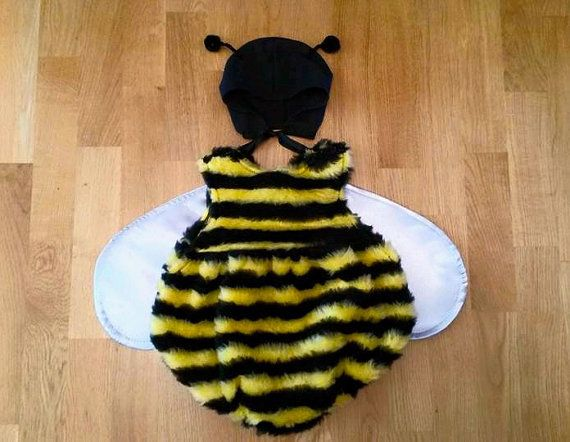 Baby Bumble Bee Costume Fits Up To 24 M Halloween
