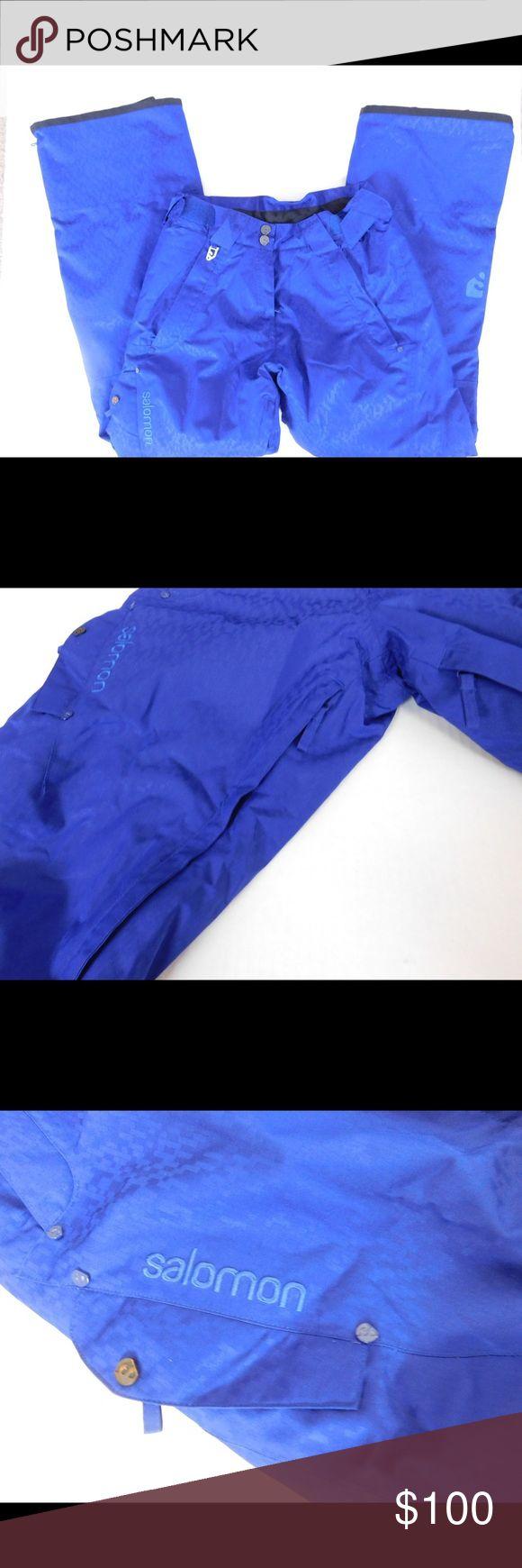 Salomon Snow Sport Pants EUC size small snowboard pants. Salomon Pants