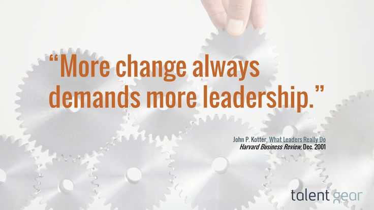 can leaders really manage change Do people really change evidence points to yes we are constantly changing -- physically, mentally, emotionally and spiritually do you want to change as a leader in any capacity, you are obligated to understand the undercurrents of your behavior so you can adapt your behavior accordingly.