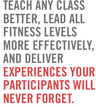 ACE | Group Fitness Certification | Group Exercise Certification --- Teach any class better, lead all fitness levels more effectively, and deliver experiences your participants will never forget.