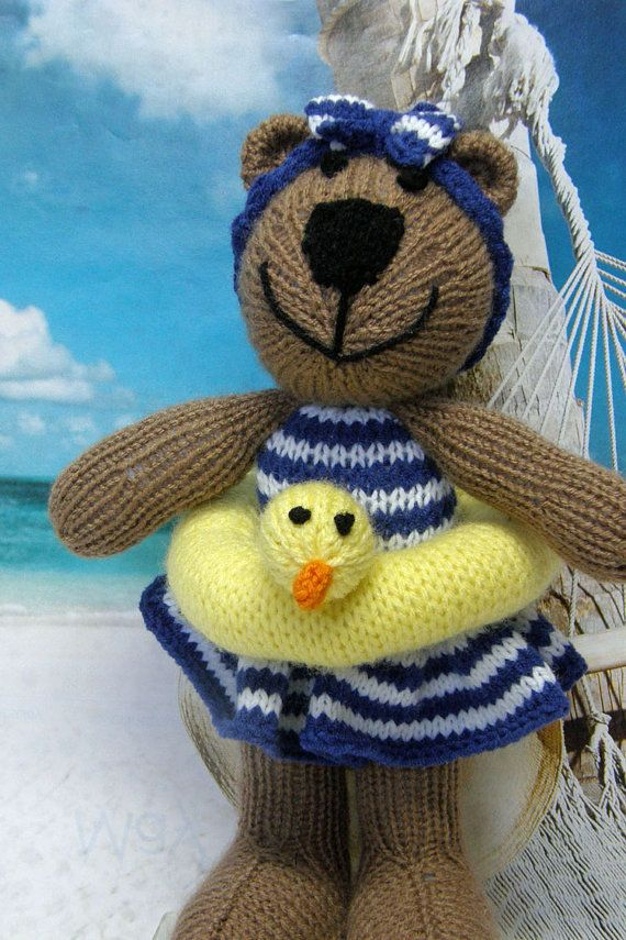 Knitting Stuffed Animals : Best images about knitted stuffed animals on pinterest