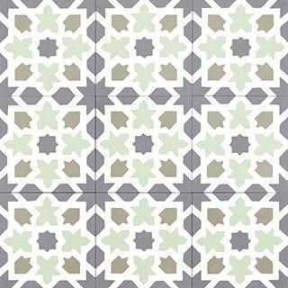 Tradičné vzory cementovej dlažby