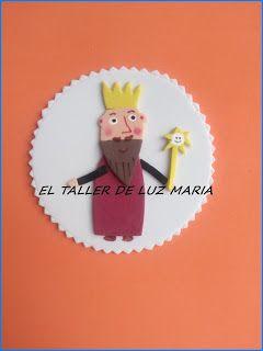 EL TALLER DE LUZ MARIA: MÁS IMANES DE GOMA EVA BEN Y HOLLY