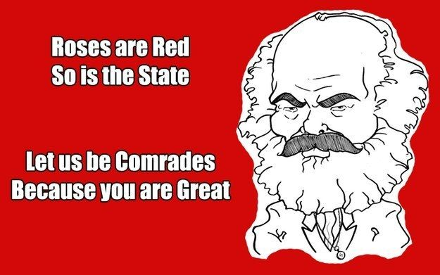 This charming Valentine. | 21 Things Only True Comrades Will Appreciate