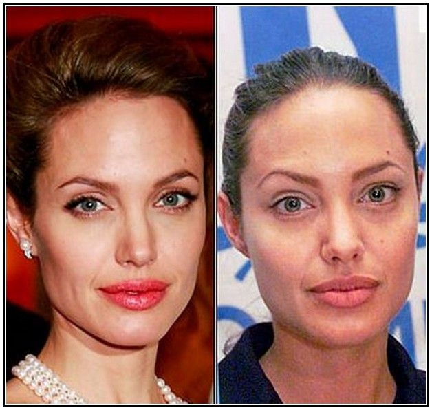 Hollywood Celebrities Without Makeup Before And After ...