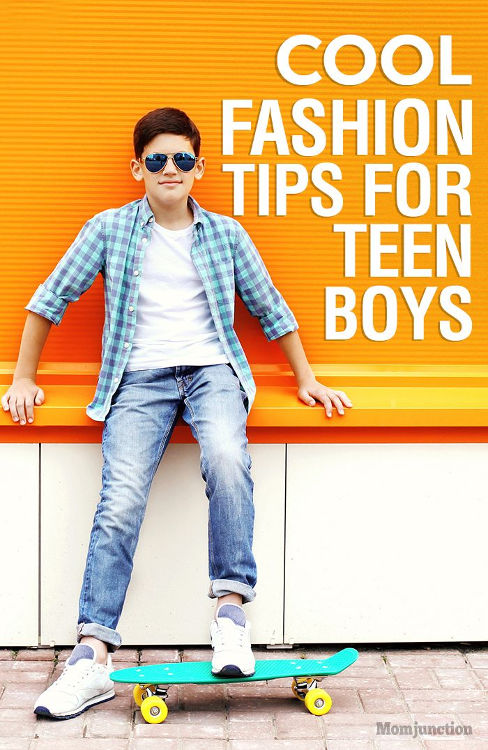 Clothing store for teenage guys