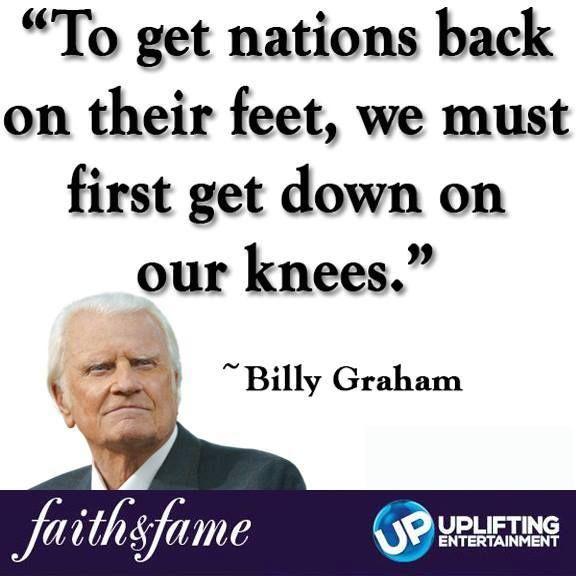 Graham Prayer For Nation Billy The