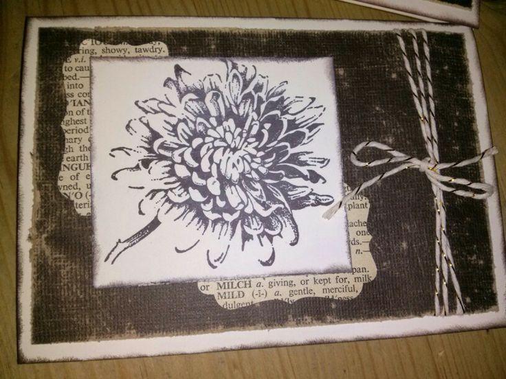 Stampin Up, Vintage, Mirjams-Stempelecke, Karte, Aus dem Garten der Freundschaft