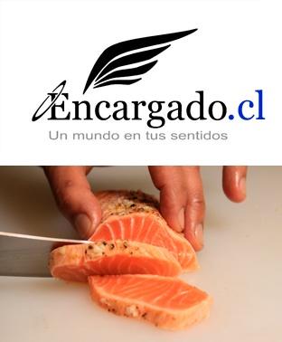 Sellado de salmón, simple junto a un buen rosé. http://encargado.cl/?p=2754