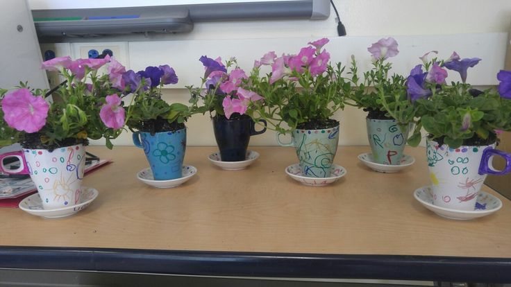 Mothers day.  Inspiration from Alice in wonderland teacups.