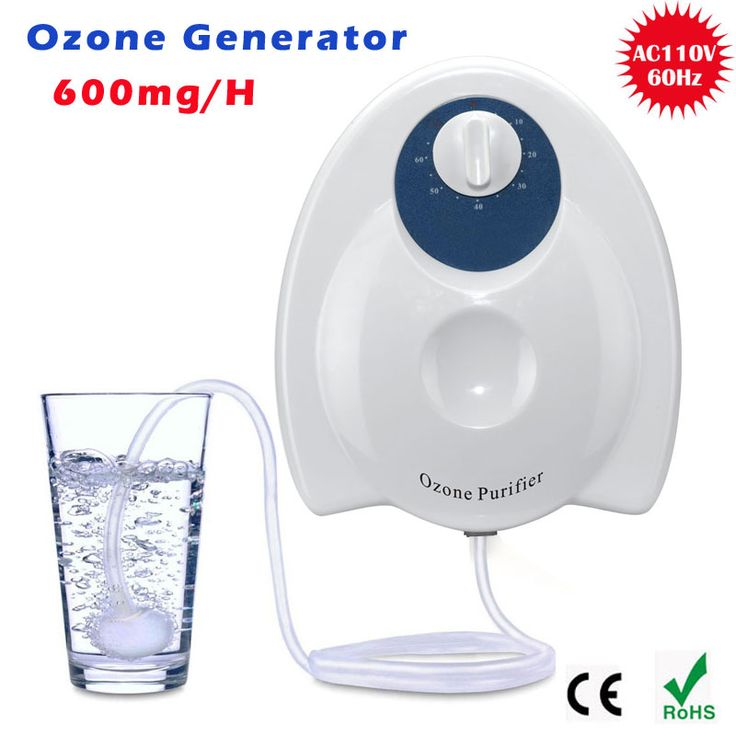 110V 220V 600mg/h Home sterilizer  Ozone Generator Ozonator ionizer O3 Timer Air Purifiers Oil Vegetable Meat Fresh Purify Water