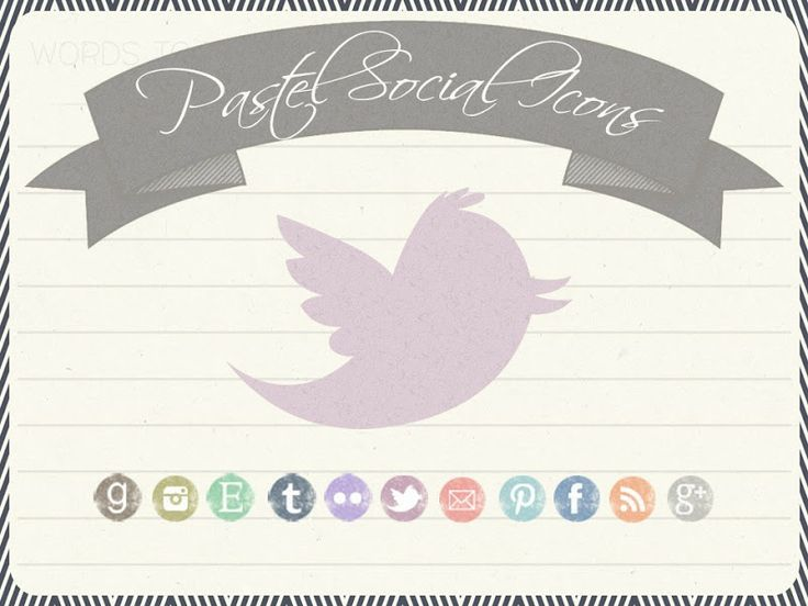 This blog has tons of beautiful social media icons for blogs and websites! B.You: Blog Design: 25 Free Social Media Icon Sets