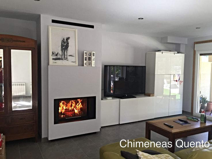 11 best chimeneas calefactoras por agua images on - Chimeneas quento ...