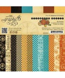 Steampunk Spells 6X6 Patterns & Solids Paper Pad