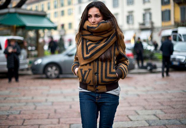 Women of Milan Street Style Photos: Fashion Shows: GQ
