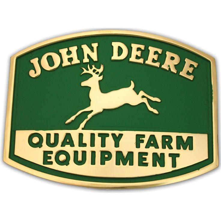 Montana Silversmiths John Deere Belt Buckle