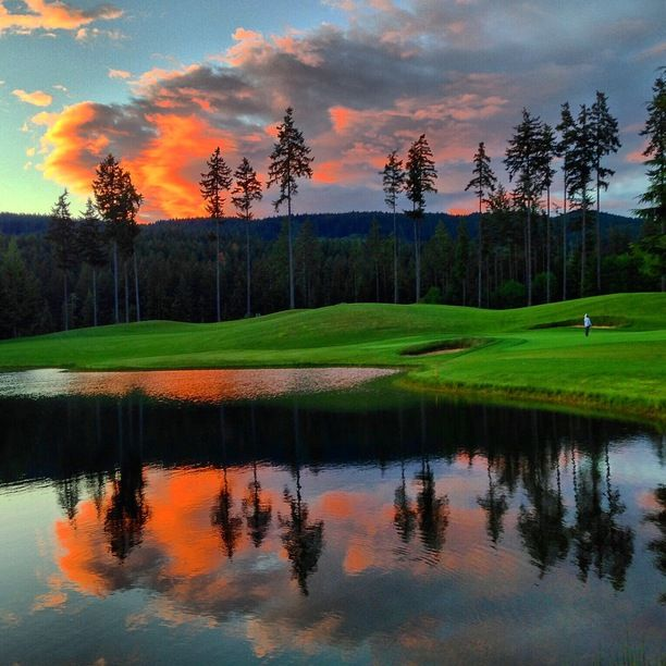 Gold Mountain Olympic Golf Course, Bremerton, Washington -...