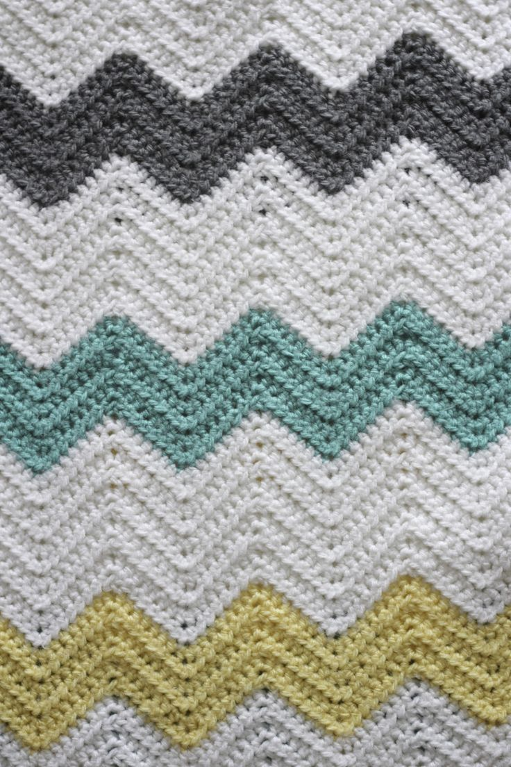 283 best Ripple Afghan images on Pinterest | Crochet blankets ...