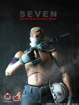 Brothersworker 1/6 Scale Figure - Seven[Hot Toys]