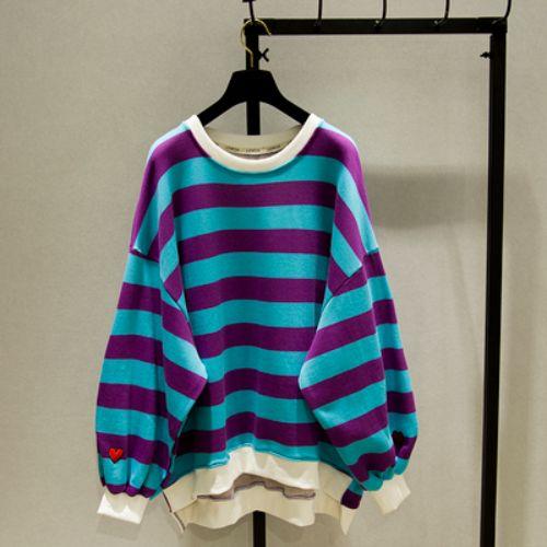 Colored striped sweater colored striped sweater