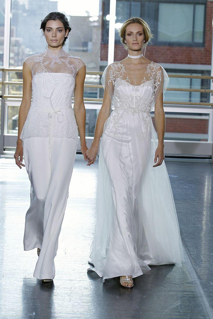 15 best WEDDING GOWNS-Pant Suit images on Pinterest | Short wedding ...