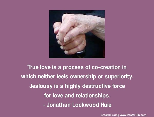 Love is not the destructive force