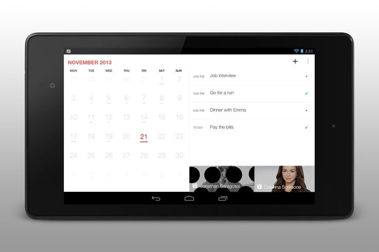 Any.do releases Android-compatible Cal application, previously available on iOS devices only. #apps #review