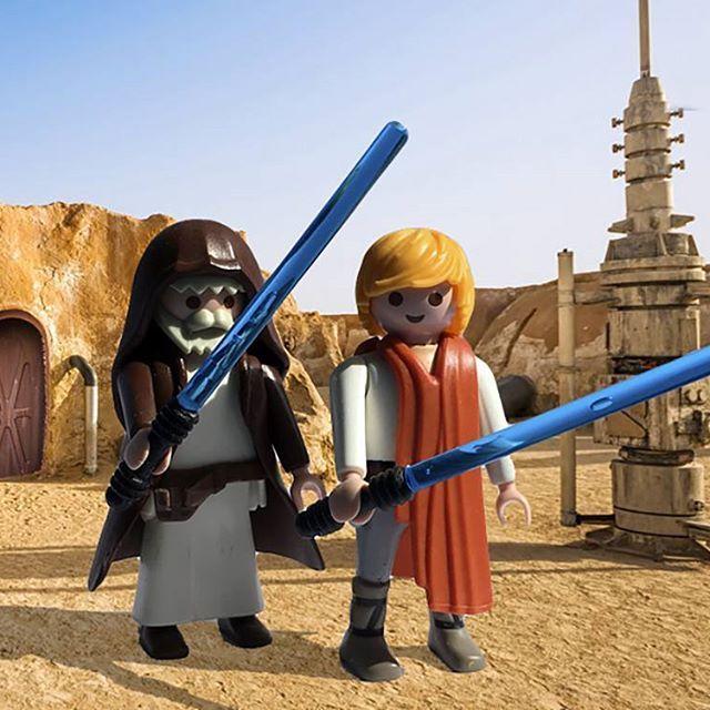 Obi wan y Luke Skywalker en versión Click, son sólo un aperitivo de los customs…