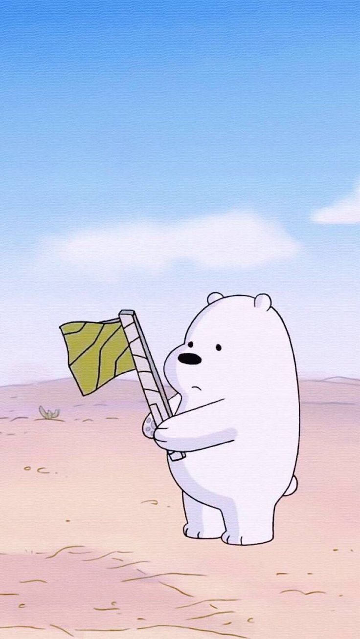 Pin by Paded Pedd on Wallpaper1  Pinterest  Bare bears, Bears and Wallpaper