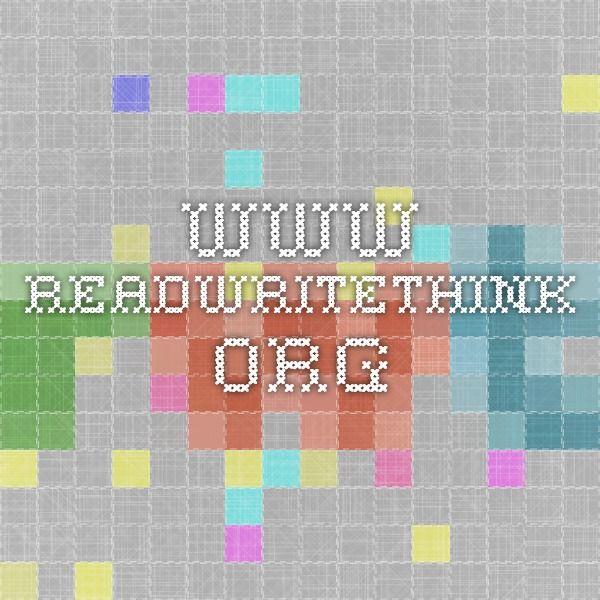 Readwritethink Org