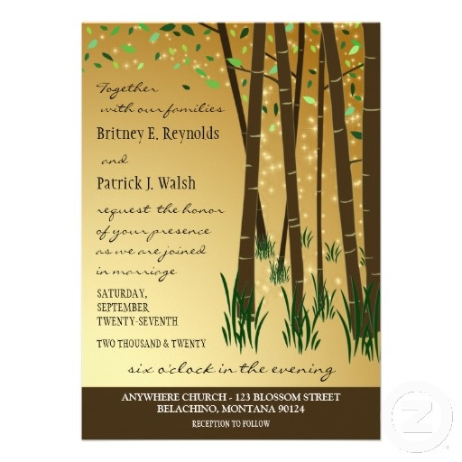 36 best Enchanted Forest Wedding Invitations images on Pinterest