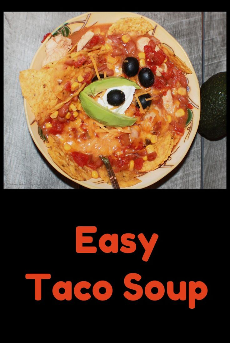 Easy Chicken Taco Soup #taco  #tacotuesday #soup #mexican #mexicanfood  #mexicanrecipes #texas #avocado #beans #tortilla #cheddar #eating #recipes #recipe #food #cooking #stove #foodblogger #foodgasm #foodphotography