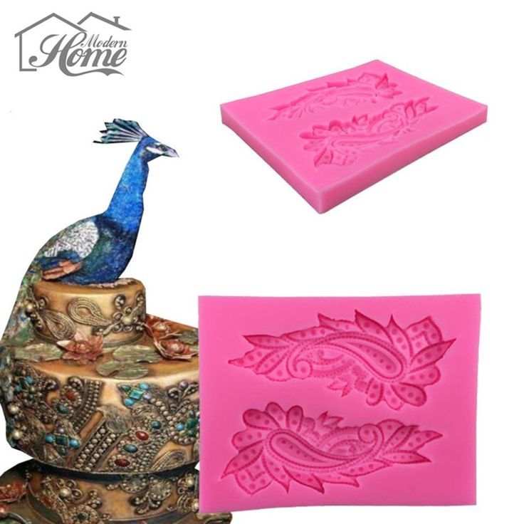 3D Peacock Feather Silicone Cake Mold Lace Fondant Cutter Molds Cupcake Mould Soap Mold Chocolate Cake Decorating Confeitaria-in Baking & Pastry Tools from Home & Garden on Aliexpress.com | Alibaba Group