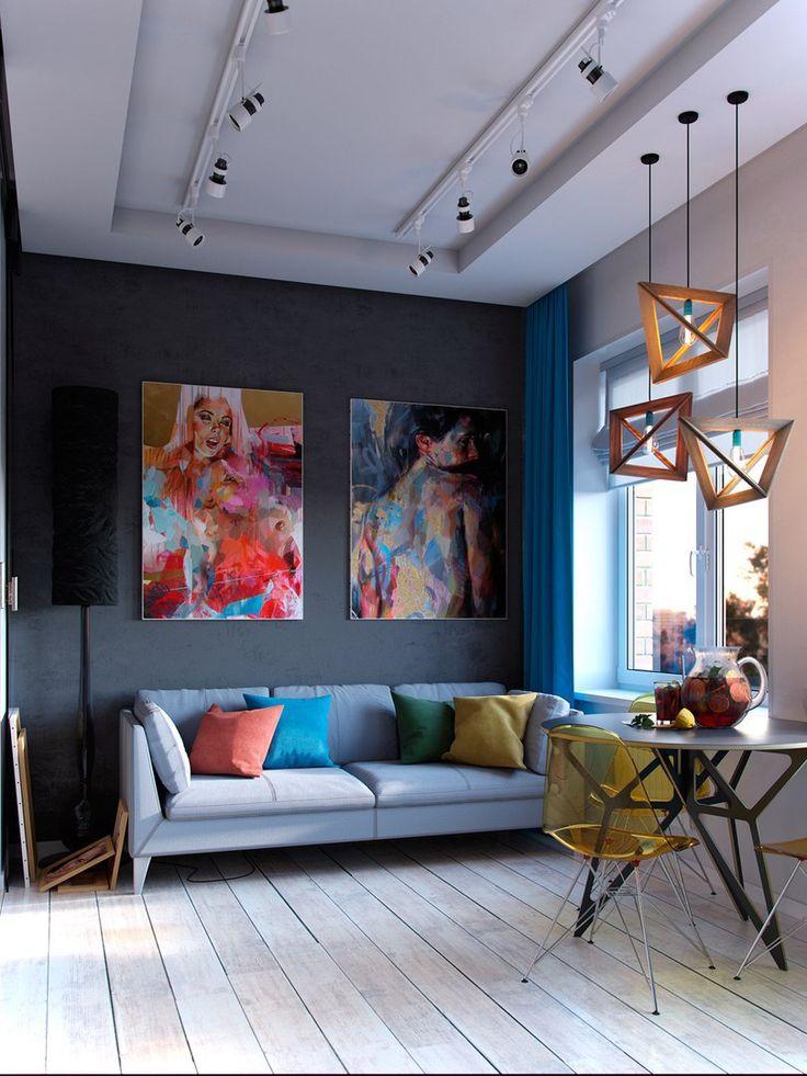 303 Best Dark Grey Walls Images On Pinterest