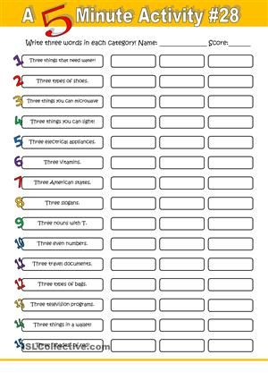 Another one of these fun fillers to be used in the beginning of a lesson or as…