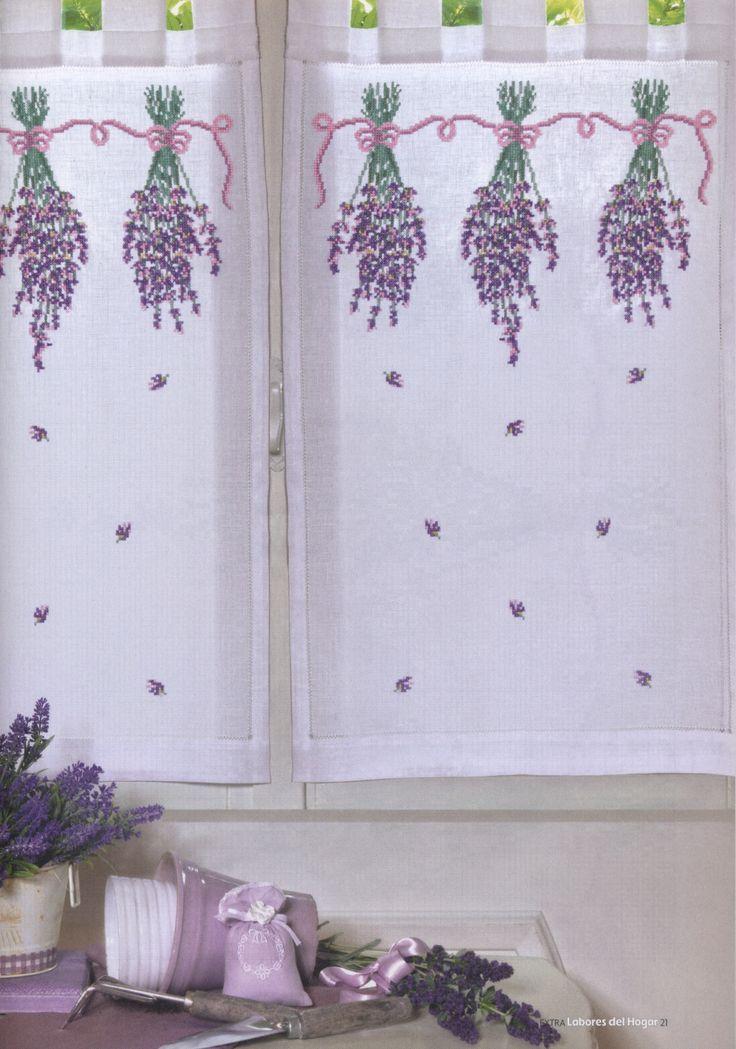 Lavender curtain (1/3)