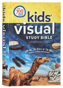 Buy NIV Kids' Visual Study Bible Full Colour Interior by Zondervan Online - NIV Kids' Visual Study Bible Full Colour Interior Hardback: ID 9780310758600