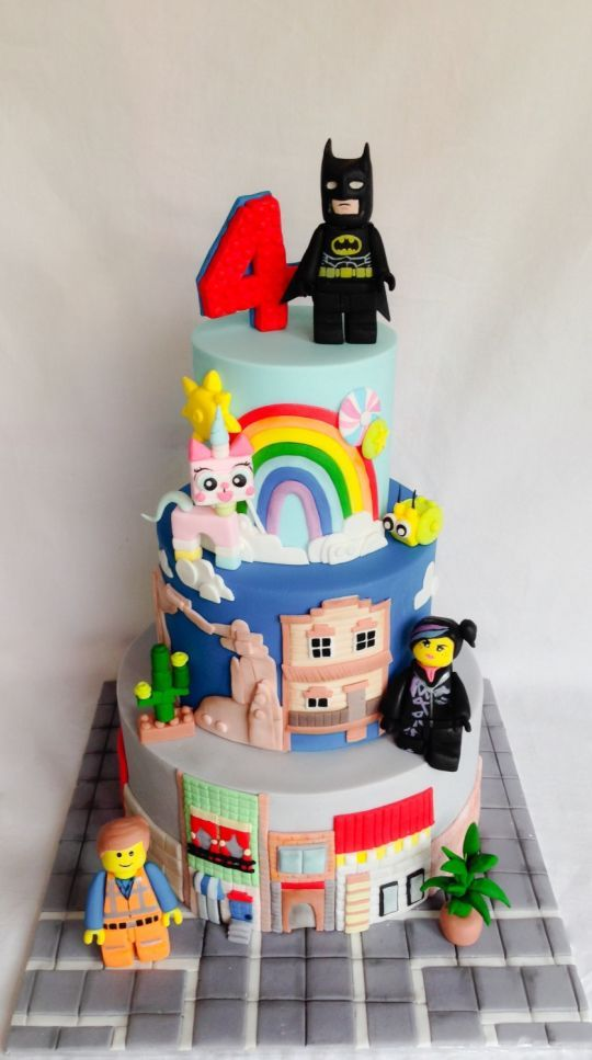 Lego movie cake! http://www.facebook.com/pages/Kellie-Watson-Cake-Art/326748307362625