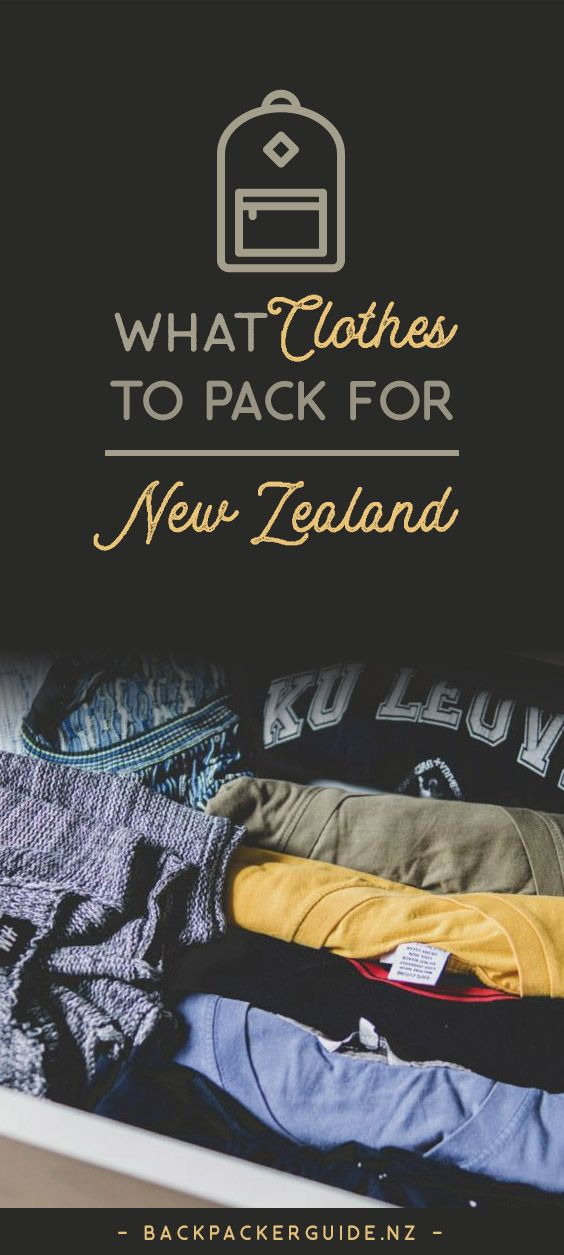 "How to dress to backpack around New Zealand. Well, we don't want to tell anyone how they should dress but… some clothes are just more practical than others. Especially in New Zealand where the weather changes so much that it's said to have ""four seasons in a day"". Plus, you will find yourself in a lot of different situations while on a working holiday in New Zealand, such as taking long journeys, having a job interview, and doing some crazy activities. So with all that in mind, we have put…"
