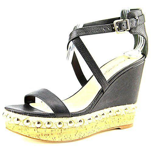 Via Spiga Womens Moss Dress Sandal Black 9 M US -- Check out this great ·  Sandales De Coin NoiresCoins NoirsPlates-formes Pour FemmesChaussures ...